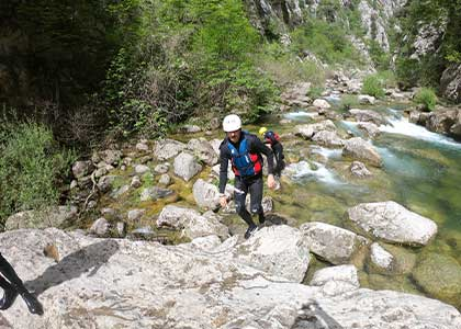 Canyoning tour on Cetina river from Split by Mirabella Tours
