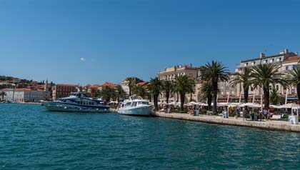 Town of Split, Croatia